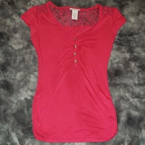 Candie's lace top